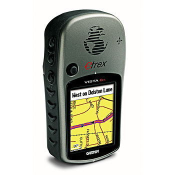 Garmin eTrex Vista CX Map Side