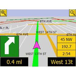 Evesham Nav-Cam 7000 Map
