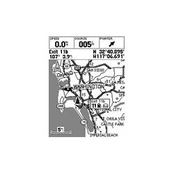 Garmin GPS 76 Map