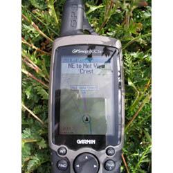 Garmin GPSMAP 60CSx Left