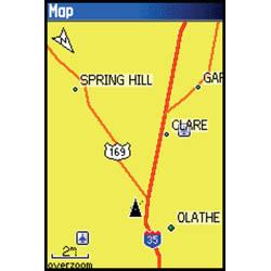 Garmin GPSMAP 60CSx Map