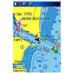 Garmin GPSMAP 76CSx Map