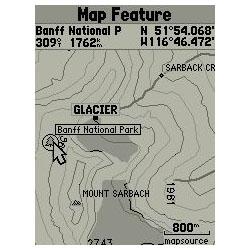 Garmin GPSMAP 76 Map