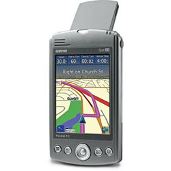 Garmin iQue M4 Right