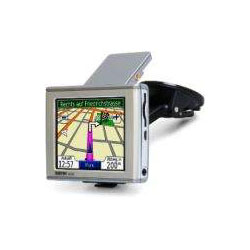Garmin Nuvi 350 Attached