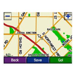 Garmin StreetPilot C550 Map