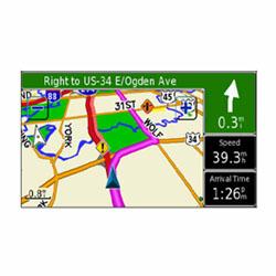 Garmin StreetPilot 2730 Map