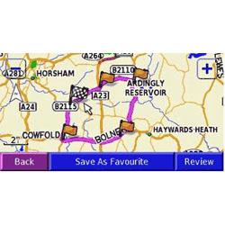 Garmin StreetPilot 2820 Map