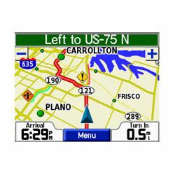 Garmin StreetPilot C340 Map