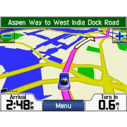 Garmin StreetPilot c510 Map