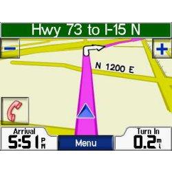Garmin StreetPilot c580 Map