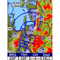 Lowrance AirMap 2000C Map