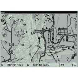 Lowrance GlobalMap 4900M Map