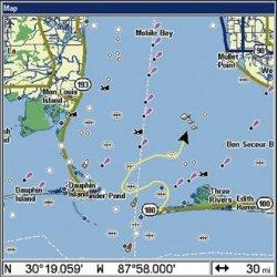 Lowrance GlobalMap 5200C Map