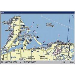 Lowrance GlobalMap 7200C Map