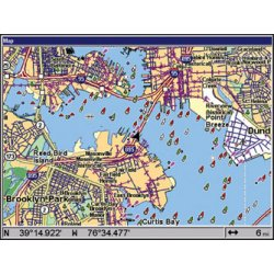 Lowrance GlobalMap 7500C Map