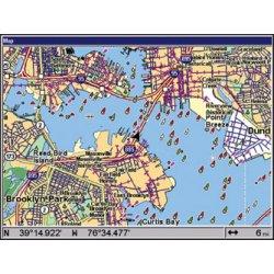 Lowrance GlobalMap 8200C Map