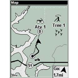 Lowrance iFINDER Hunt Map