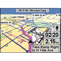 Lowrance iWay 350C Map