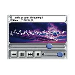 Lowrance iWay 500C MP3
