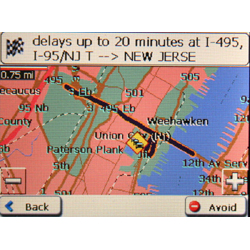 Mio DigiWalker C710 Map