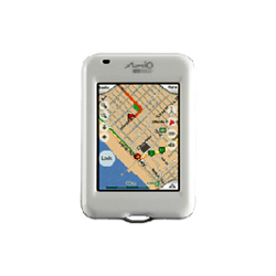 Mio DigiWalker H610 Map