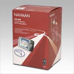 Navman iCN 550 Box