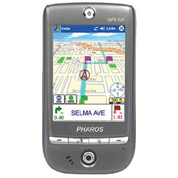 Pharos Traveler GPS 525