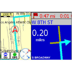 Pharos Traveler GPS 525 Map