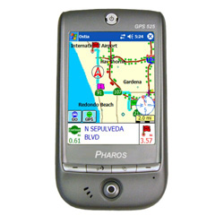 Pharos Traveler GPS 525 Right