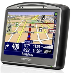 TomTom GO 720 Review with GPS map updates and manual download